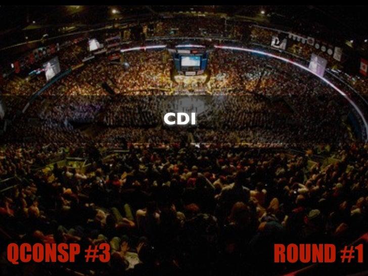 IoC / DIQCONSP #3              ROUND #1