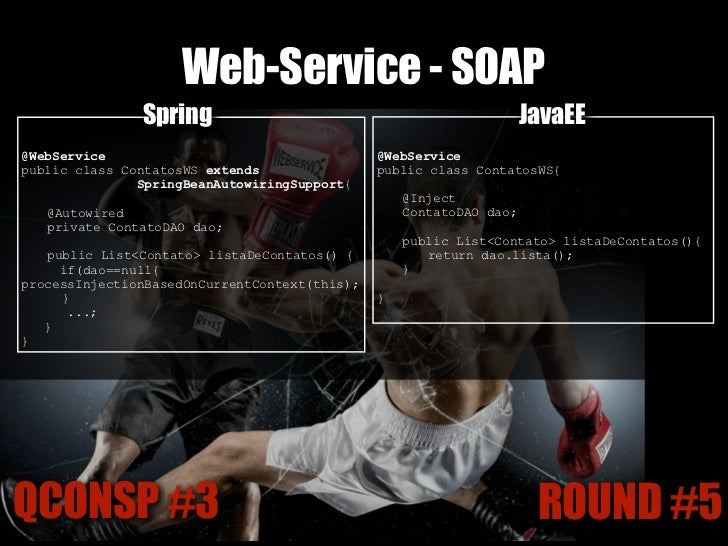 "Web-Service - REST@Controller                 Spring                           @Path(""/"")                                 ..."