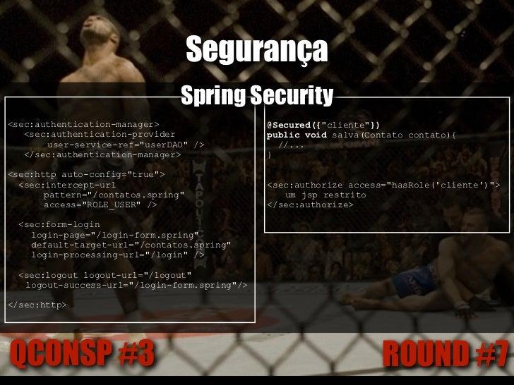 Infra-SpringQCONSP #3                  ROUND #8