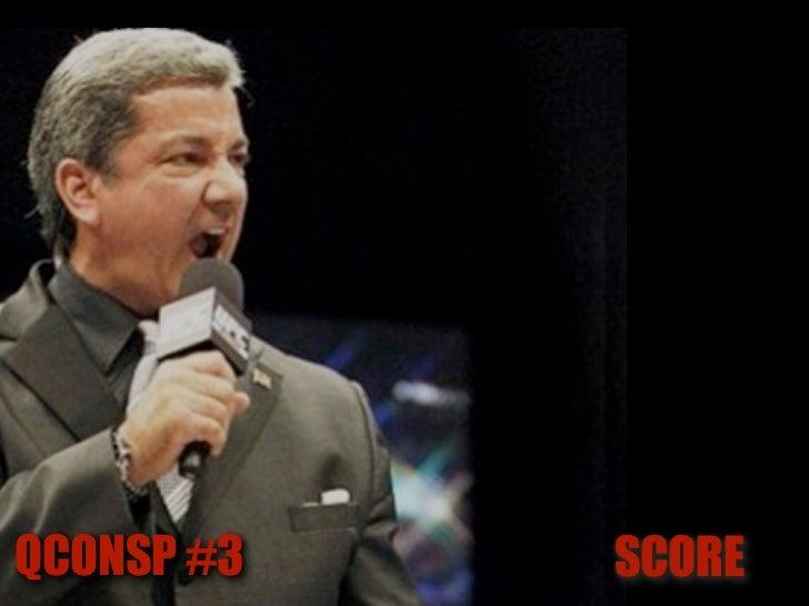 QCONSP #3   SCORE