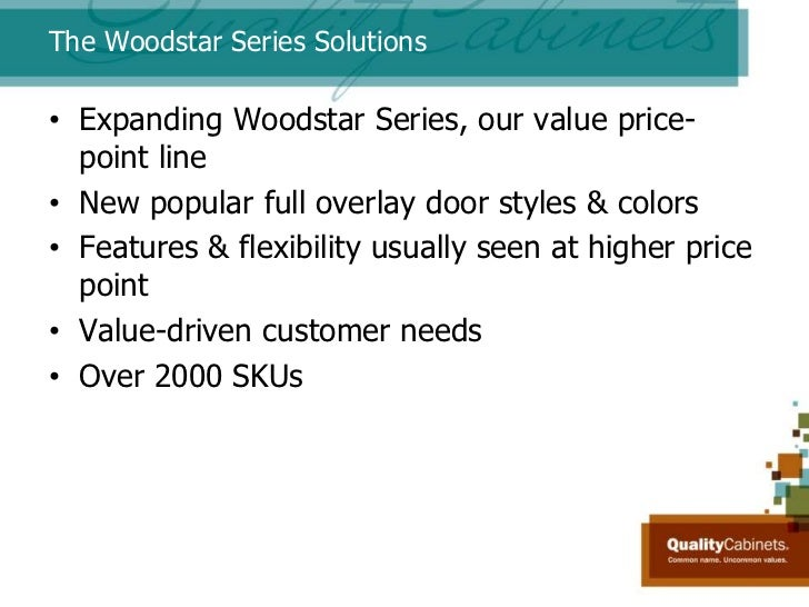 ... Customers; 9. The Woodstar ...