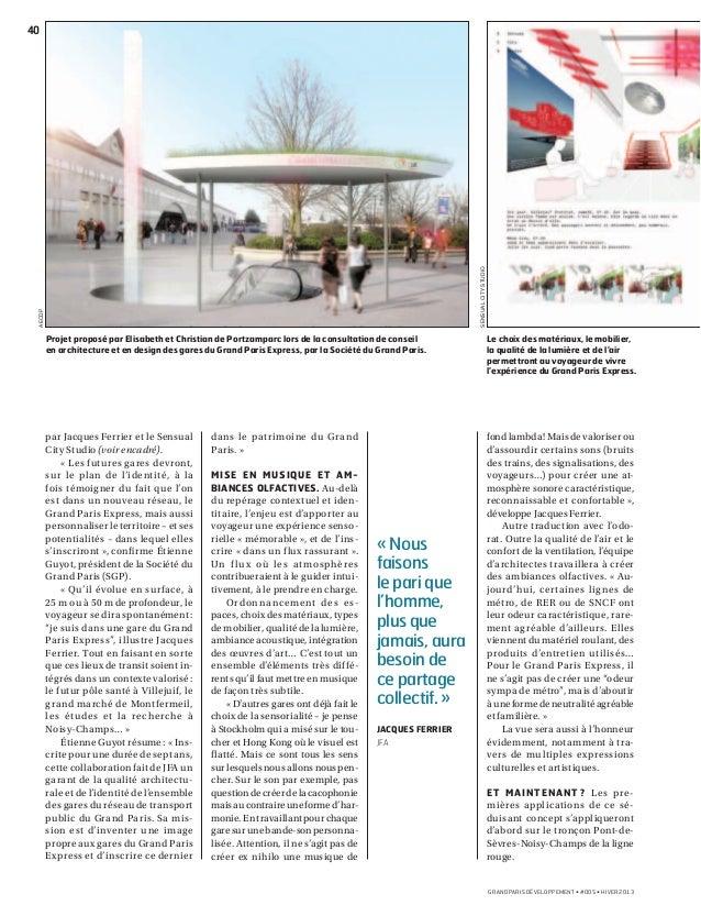 Grand Paris Développement  #5 Slide 3
