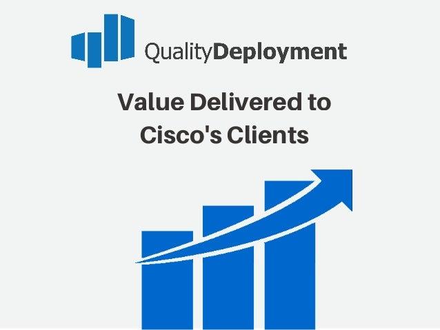 ValueDeliveredto Cisco'sClients