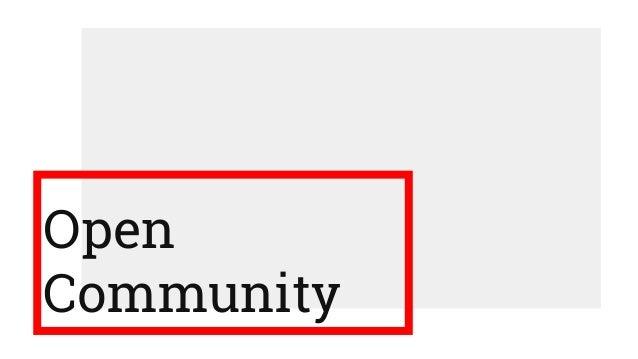 Open Community