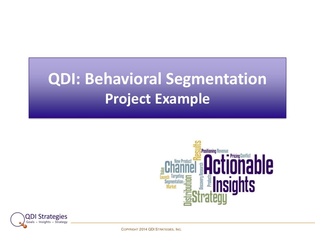 behavioral customer segmentation for ikea When you register as a new customer  influencing purchase behavior segmentation schemes that are based on behavior are going to be more reflective.