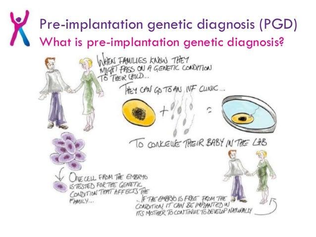 Argumentative pre implantation genetic diagnosis