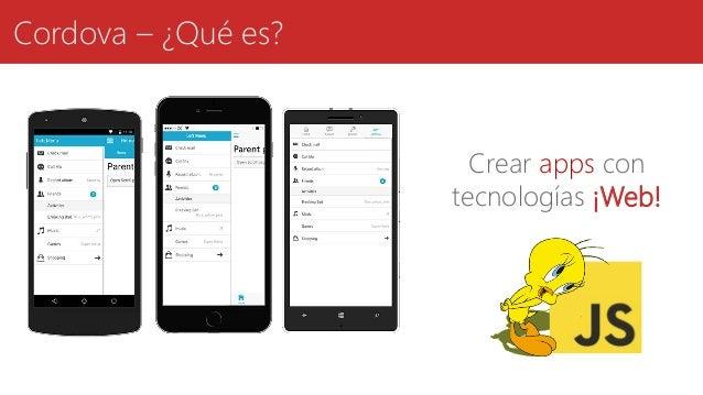 Cordova – ¿Qué es? Crear apps con tecnologías ¡Web!