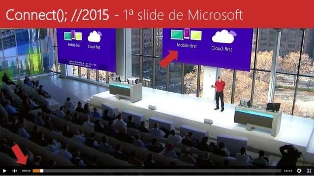 Connect(); //2015 - 1ª slide de Microsoft