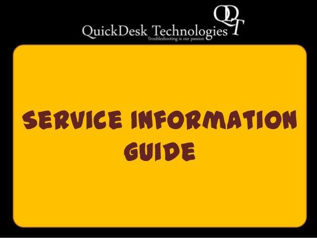 Service InformationGuide