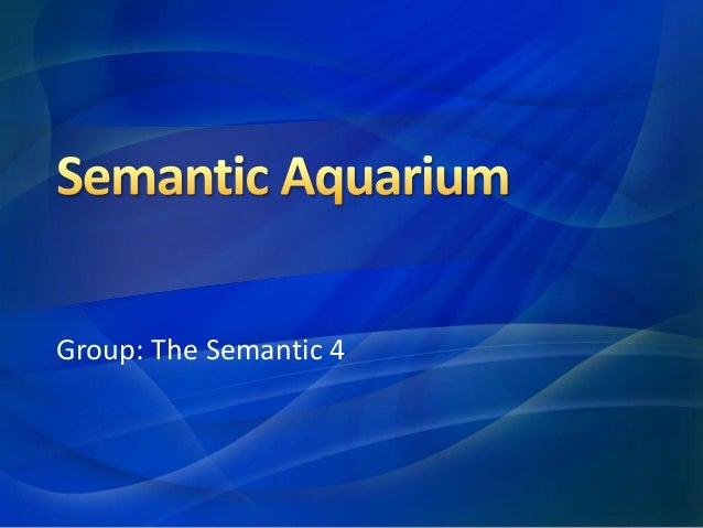 Group: The Semantic 4