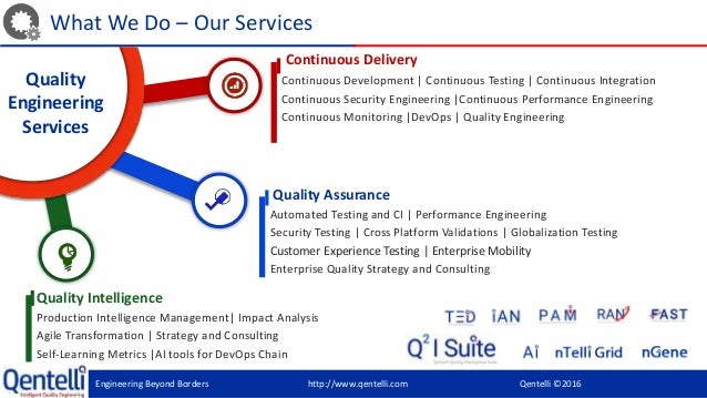 An overview of higgins quality assurance company