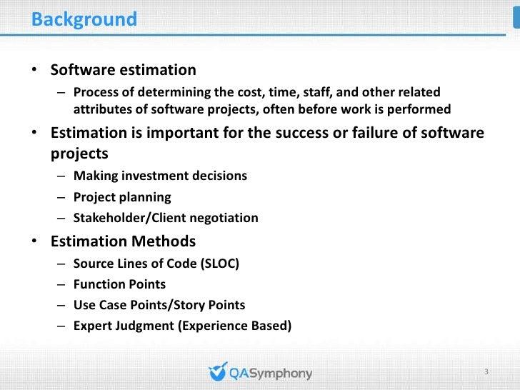 Test Estimation using Test Case Point Analysis method Slide 3