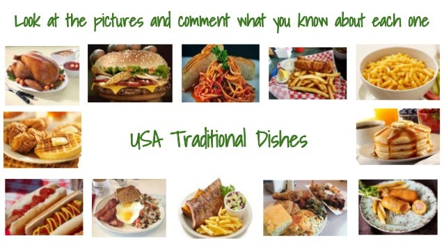 Esol conversational english topics topic 2 food and for American cuisine topic