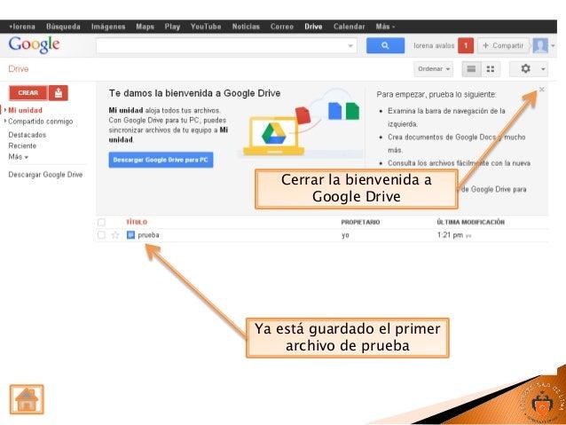 guía de uso google docs