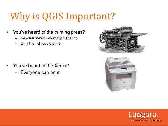 • You've heard of the printing press? – Revolutionized information sharing – Only the rich could print • You've heard of t...