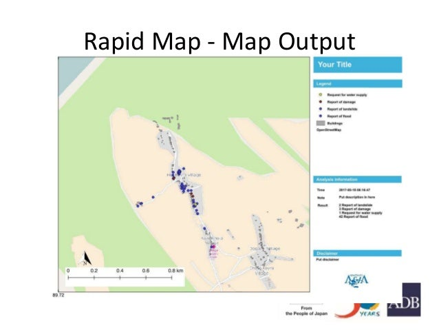 Rapid Map - Map Output