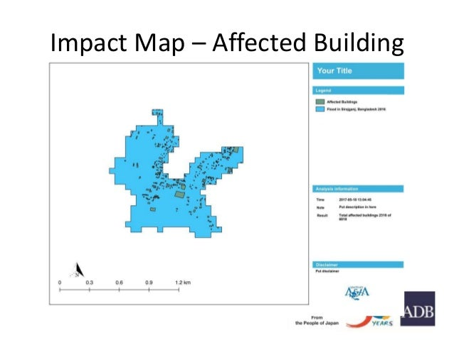 Impact Map – Affected Building