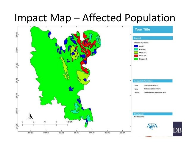 Impact Map – Affected Population