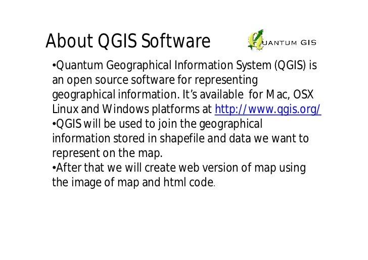 QGIS Tutorial 1
