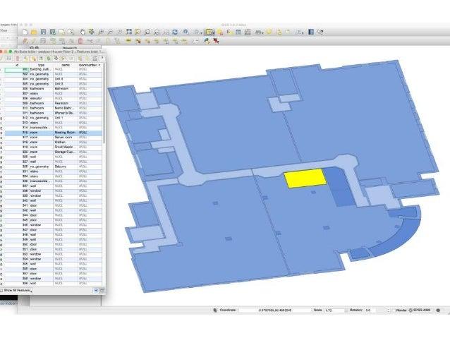 Using QGIS to create 3D indoor maps