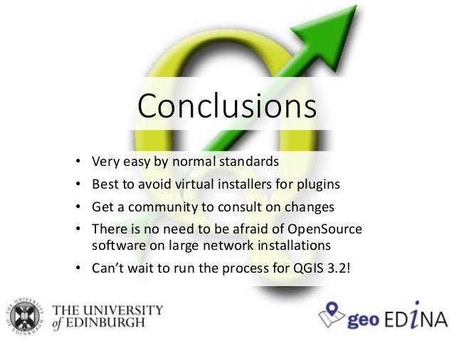 Installing QGIS on a network