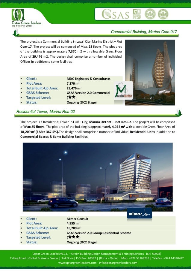 Qatar Green Leaders - Company Profile August 2015