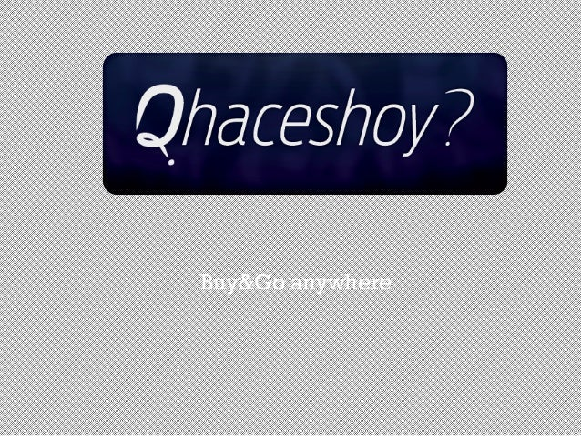 Buy&Go anywhere
