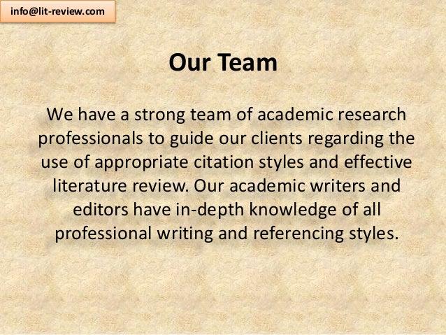 Five Purposes Of Literature Review Dorsett said