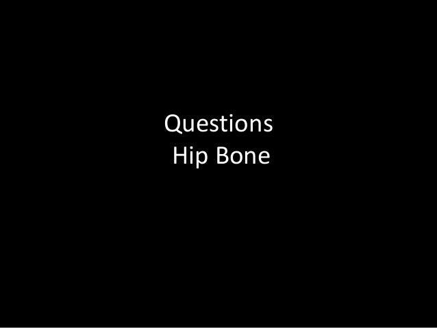 Questions Hip Bone