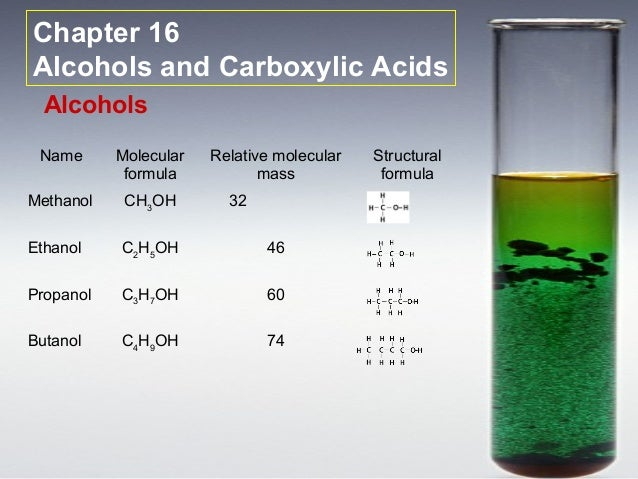 What is the formula mass of propanol c3h7oh