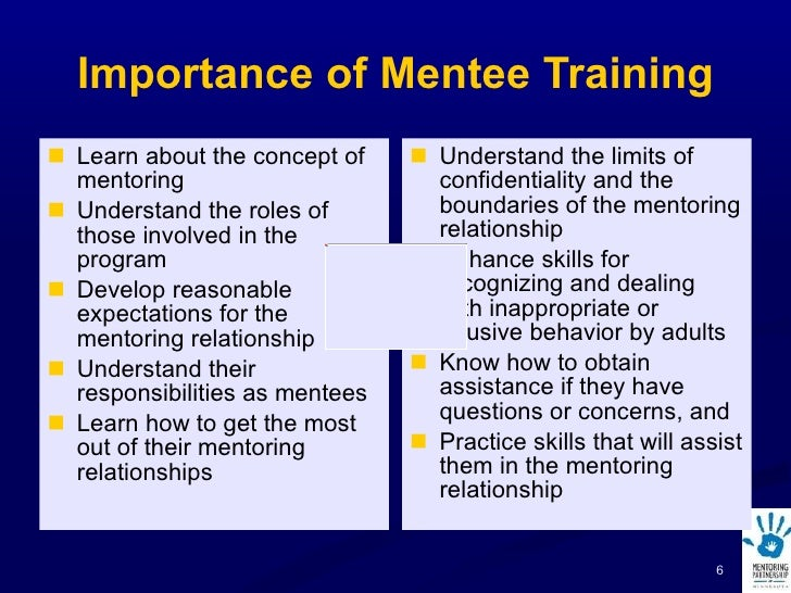 matching mentors and mentees questions