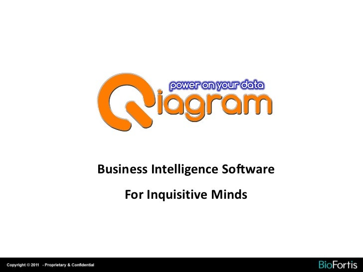 Business Intelligence Software    For Inquisitive Minds