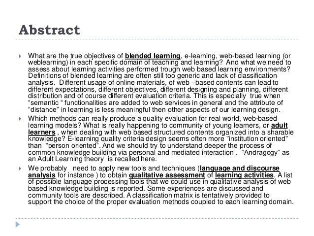 Qi bl 2014 wienerneustadt quantitative and qualitative criteria 0.9 Slide 2