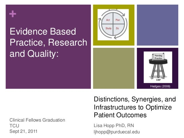 +Evidence BasedPractice, Researchand Quality:                                                     Hedges (2006)           ...