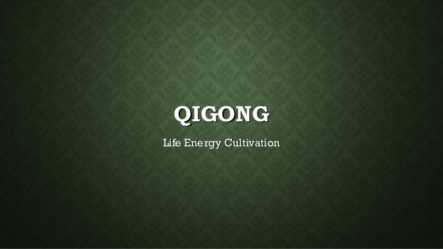 QIGONGQIGONGLife Energy CultivationLife Energy Cultivation