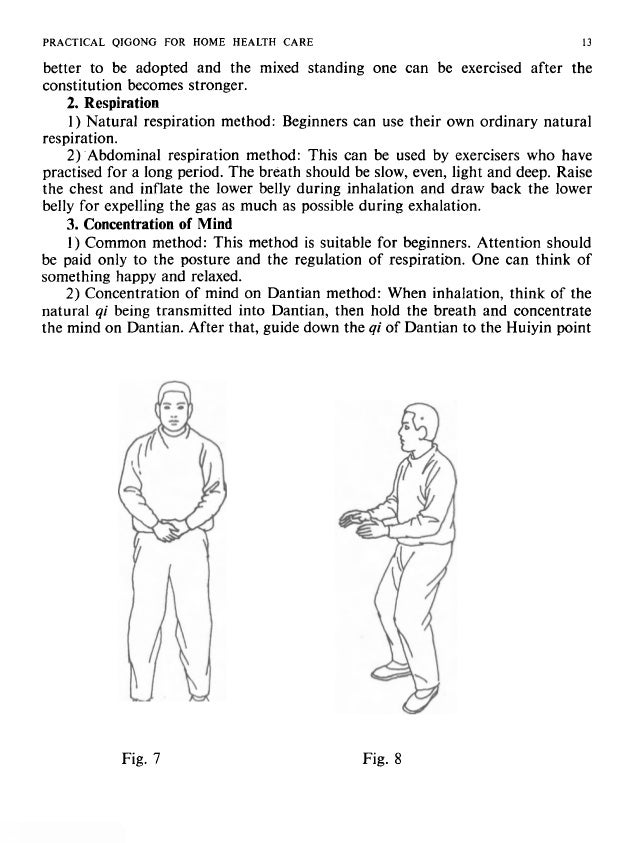 14 PRACTICAL QIGONG FOR HOME HEALTH CARE (between external genital organ and anus), then upwards to Mingmen on the waist a...