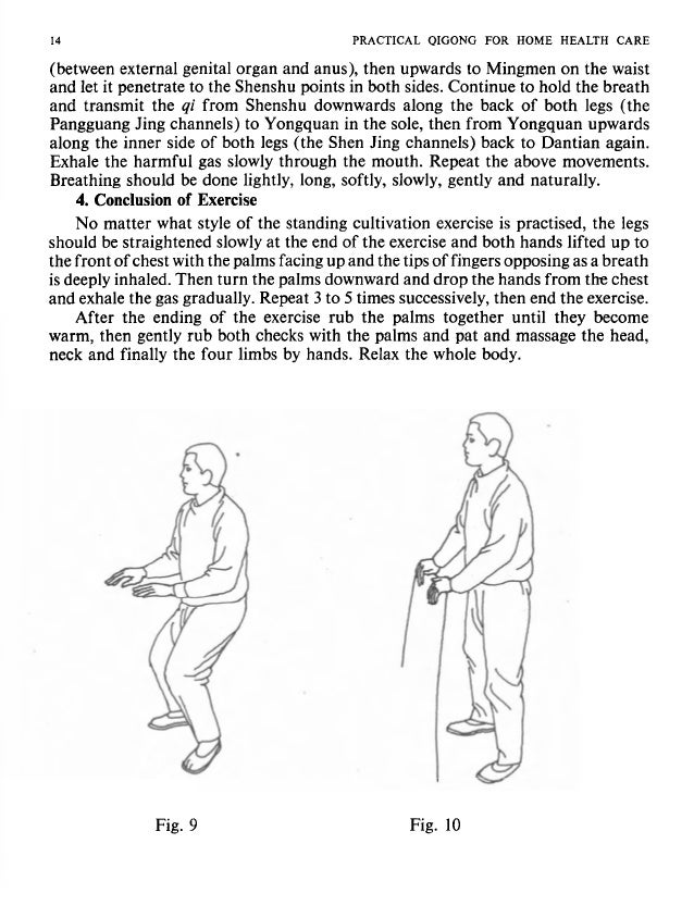 e breath legs (the upwards an again. vements. I e legs ted up to ;abreath the chest exercise. 1 become PRACTICAL QIGONG FO...