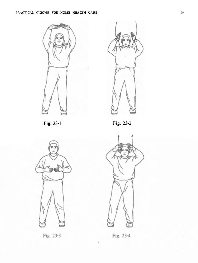PRACTICAL QIGONG FOR HOME HEALTH CARE PRACTIC with th facing you tu1 press d to the strengt lifting left sty one lef Final...