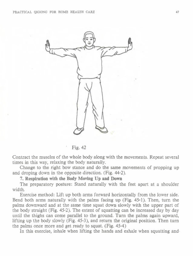 PRACTICAL QIGONG FOR HOME HEALTH CARE - Fig. 28-1 Fig. 28-2 Fig. 28-3 Fig. 28-4 Fig. 28-5 Stand thumb slightl! the ha chan...