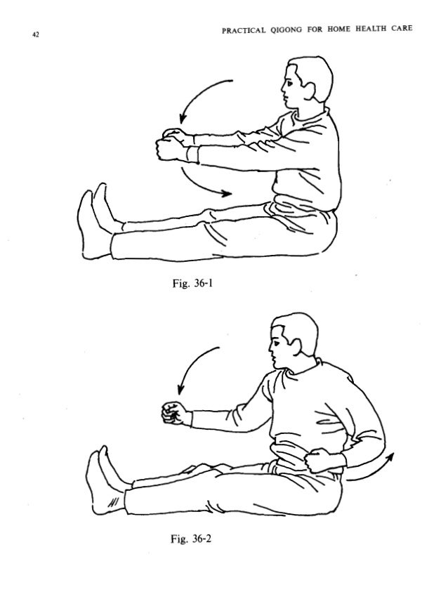 PRACTICAL QIGONG FOR HOME HEALTH CARE Fig. 37 wFig. 38