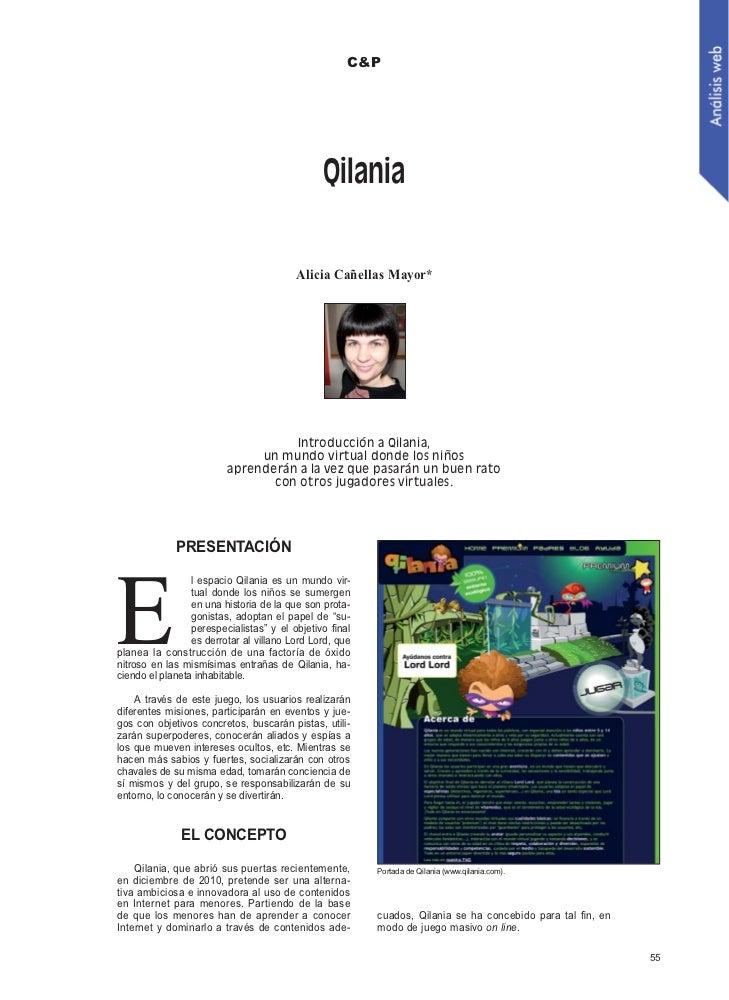 C&P                                               Qilania                                         Alicia Cañellas Mayor*  ...