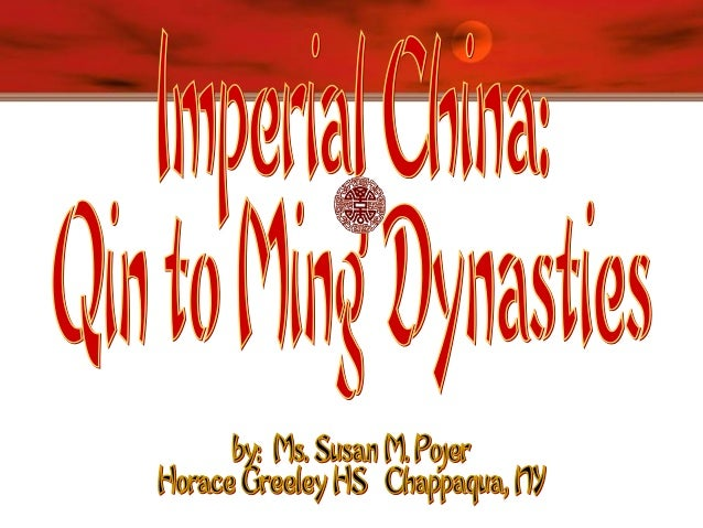 Qin [Ch'in] Dynasty, 221-206 B.C.E. Established China's first empire  Shi Huangdi (221-206 B.C.E) Legalist rule  Bur...