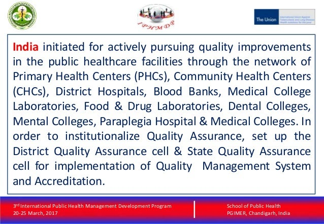 quality improvement in public health Little in the current world is simple nothing comes in a box for us to add water and stir there are those, however, who have been successful and who are willing to share their success the messages in the public health quality improvement handbook are from leaders, physicians, practitioners.