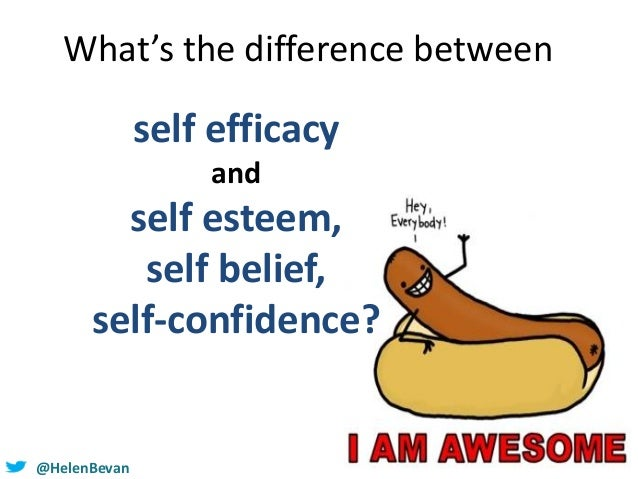 self efficacy and esteem relationship
