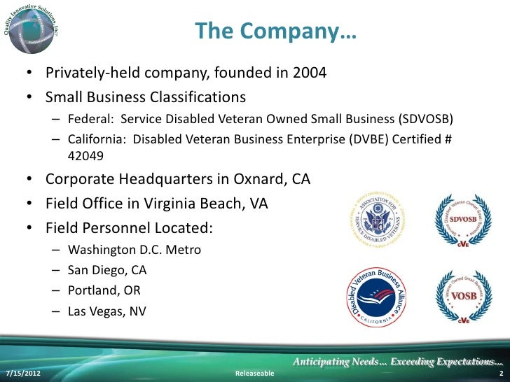 Qi Solutions Company Introduction Rev 7 2012