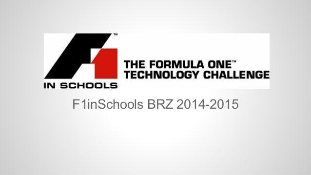 F1inSchools BRZ 2014-2015