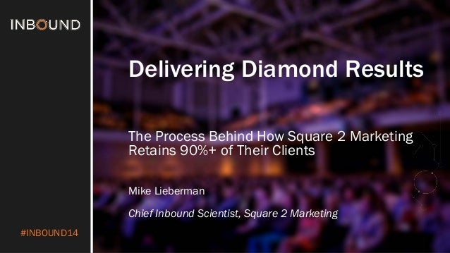 #INBOUND14  Delivering Diamond Results  The Process Behind How Square 2 Marketing Retains 90%+ of Their Clients  Mike Lieb...