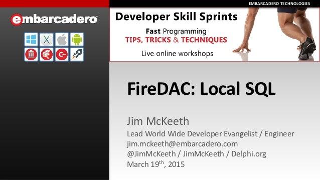 FireDAC Local SQL Skill Sprint