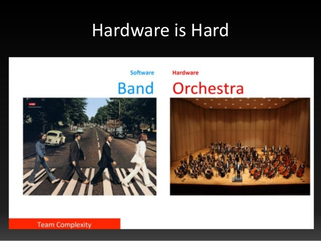Hardware is Hard