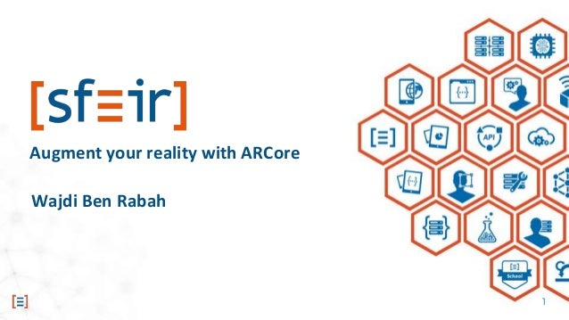 Augment your reality with ARCore !